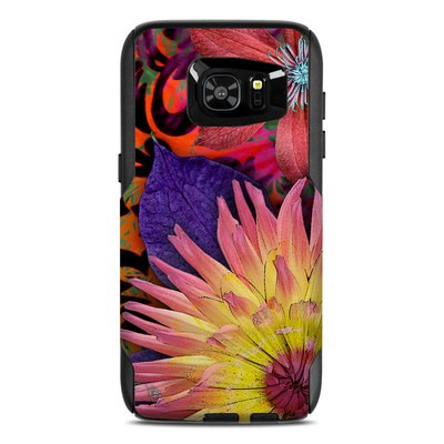 OtterBox Commuter Galaxy S7 Edge Case Skin - Cosmic Damask
