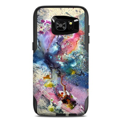 OtterBox Commuter Galaxy S7 Edge Case Skin - Cosmic Flower