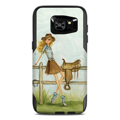OtterBox Commuter Galaxy S7 Edge Case Skin - Cowgirl Glam