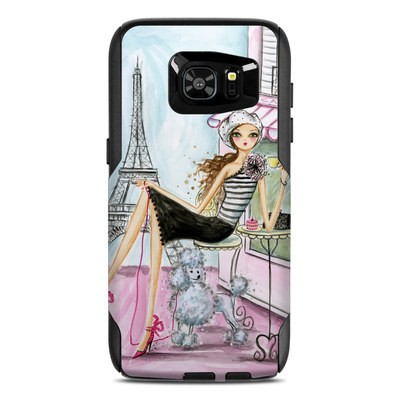 OtterBox Commuter Galaxy S7 Edge Case Skin - Cafe Paris