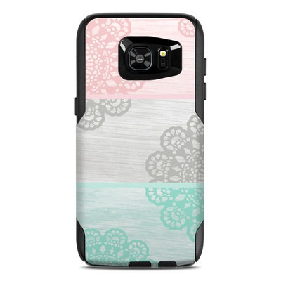 OtterBox Commuter Galaxy S7 Edge Case Skin - Doily