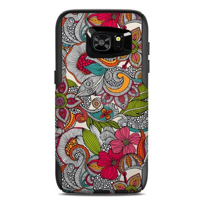 OtterBox Commuter Galaxy S7 Edge Case Skin - Doodles Color