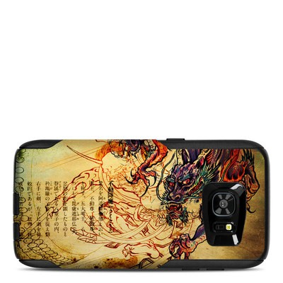 OtterBox Commuter Galaxy S7 Edge Case Skin - Dragon Legend