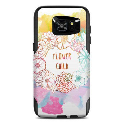 OtterBox Commuter Galaxy S7 Edge Case Skin - Flower Child