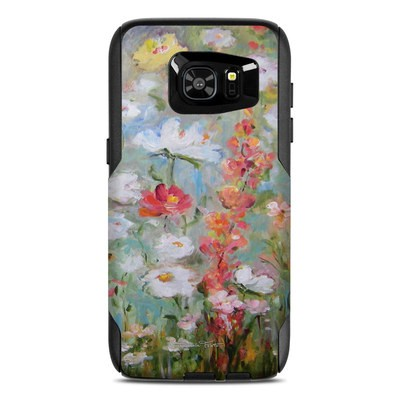 OtterBox Commuter Galaxy S7 Edge Case Skin - Flower Blooms