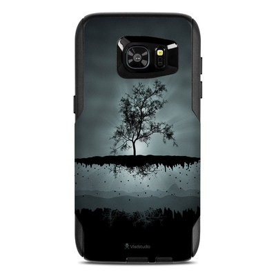OtterBox Commuter Galaxy S7 Edge Case Skin - Flying Tree Black