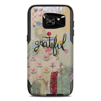 OtterBox Commuter Galaxy S7 Edge Case Skin - Grateful