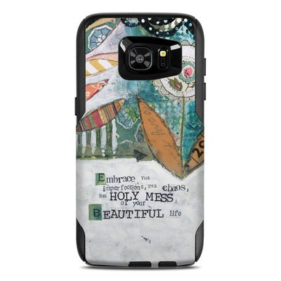 OtterBox Commuter Galaxy S7 Edge Case Skin - Holy Mess