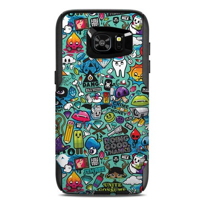 OtterBox Commuter Galaxy S7 Edge Case Skin - Jewel Thief
