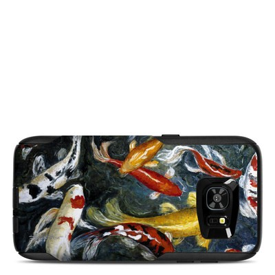 OtterBox Commuter Galaxy S7 Edge Case Skin - Koi's Happiness