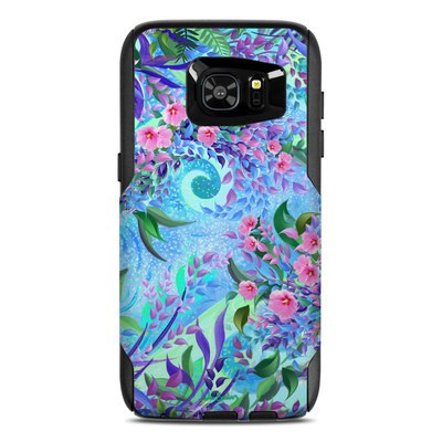 OtterBox Commuter Galaxy S7 Edge Case Skin - Lavender Flowers