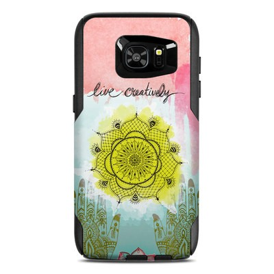 OtterBox Commuter Galaxy S7 Edge Case Skin - Live Creative