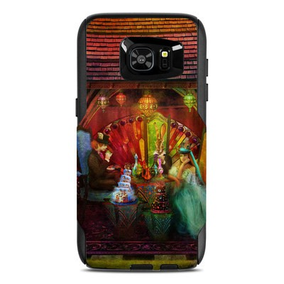 OtterBox Commuter Galaxy S7 Edge Case Skin - A Mad Tea Party