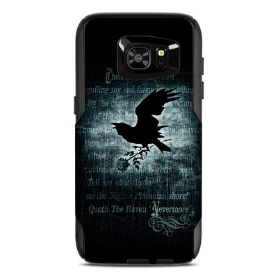 OtterBox Commuter Galaxy S7 Edge Case Skin - Nevermore