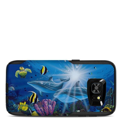 OtterBox Commuter Galaxy S7 Edge Case Skin - Ocean Friends