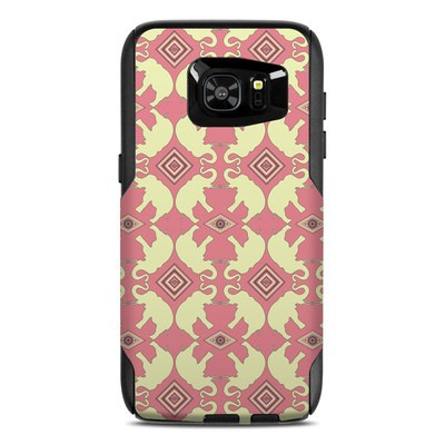 OtterBox Commuter Galaxy S7 Edge Case Skin - Parade of Elephants