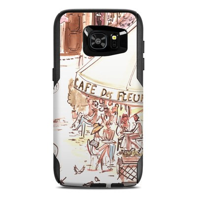 OtterBox Commuter Galaxy S7 Edge Case Skin - Paris Makes Me Happy