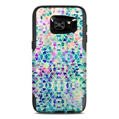 OtterBox Commuter Galaxy S7 Edge Case Skin - Pastel Triangle