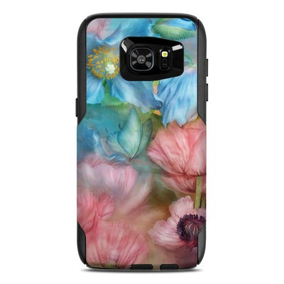OtterBox Commuter Galaxy S7 Edge Case Skin - Poppy Garden