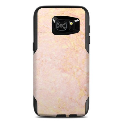 OtterBox Commuter Galaxy S7 Edge Case Skin - Rose Gold Marble