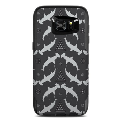 OtterBox Commuter Galaxy S7 Edge Case Skin - Shiver of Sharks