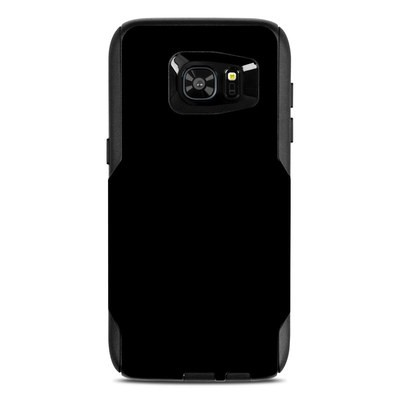 OtterBox Commuter Galaxy S7 Edge Case Skin - Solid State Black