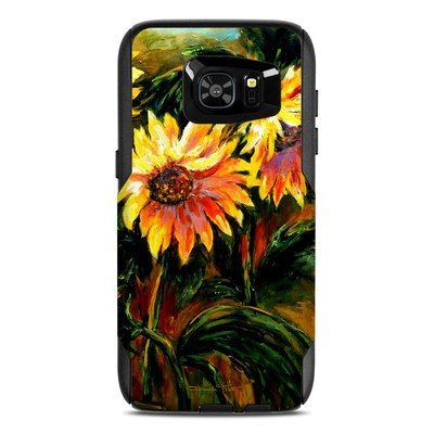 OtterBox Commuter Galaxy S7 Edge Case Skin - Sunflower Sunshine