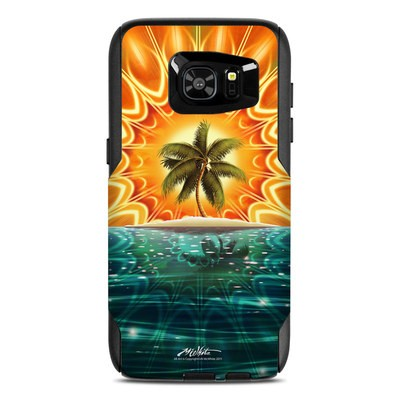 OtterBox Commuter Galaxy S7 Edge Case Skin - Sundala Tropic