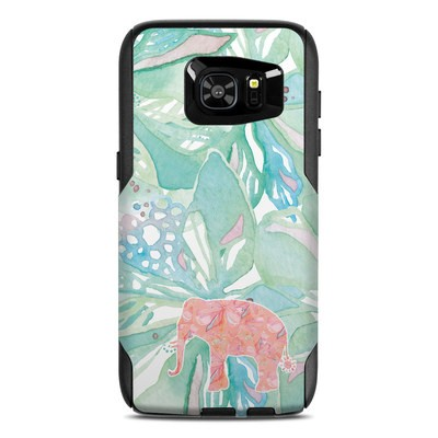 OtterBox Commuter Galaxy S7 Edge Case Skin - Tropical Elephant