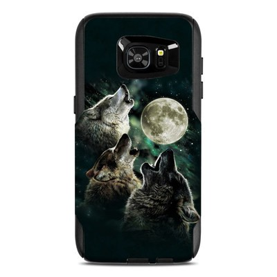 OtterBox Commuter Galaxy S7 Edge Case Skin - Three Wolf Moon