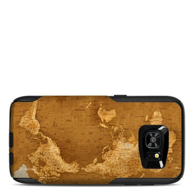 OtterBox Commuter Galaxy S7 Edge Case Skin - Upside Down Map