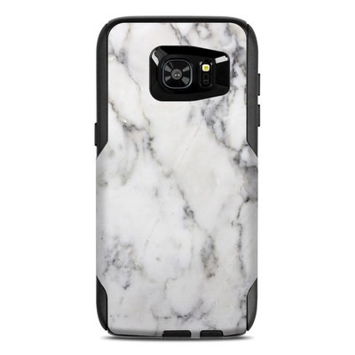 OtterBox Commuter Galaxy S7 Edge Case Skin - White Marble