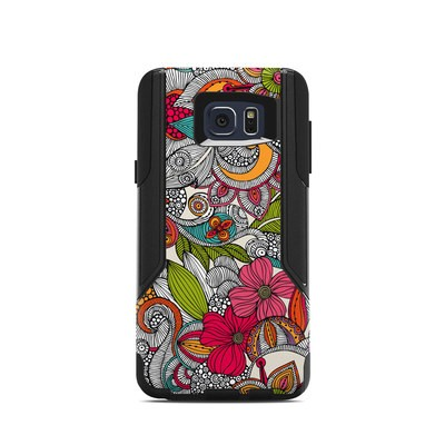 OtterBox Commuter Galaxy Note 5 Case Skin - Doodles Color