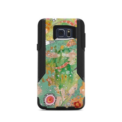 OtterBox Commuter Galaxy Note 5 Case Skin - Feathers Flowers Showers