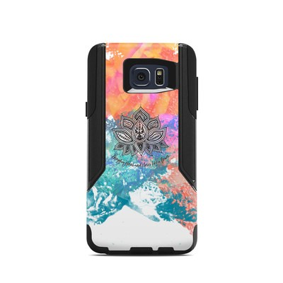 OtterBox Commuter Galaxy Note 5 Case Skin - Happy Lotus