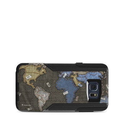 OtterBox Commuter Galaxy Note 5 Case Skin - Jean Map