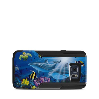 OtterBox Commuter Galaxy Note 5 Case Skin - Ocean Friends