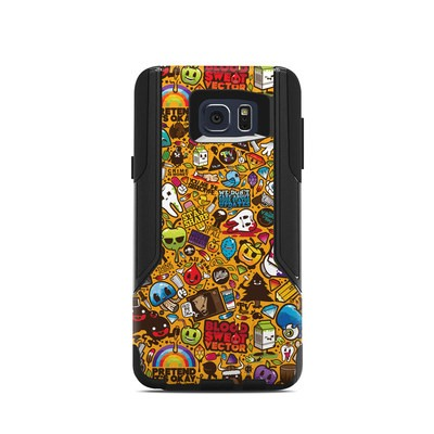 OtterBox Commuter Galaxy Note 5 Case Skin - Psychedelic