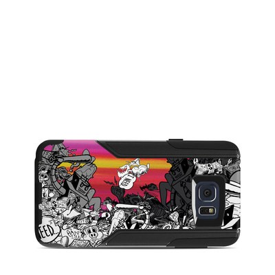 OtterBox Commuter Galaxy Note 5 Case Skin - Robo Fight