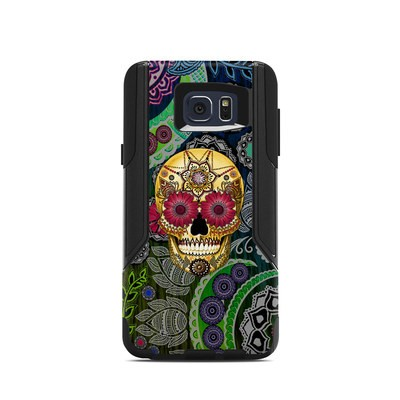 OtterBox Commuter Galaxy Note 5 Case Skin - Sugar Skull Paisley