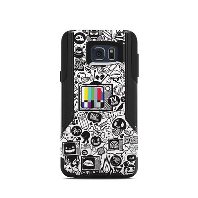 OtterBox Commuter Galaxy Note 5 Case Skin - TV Kills Everything