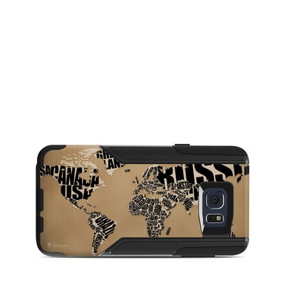 OtterBox Commuter Galaxy Note 5 Case Skin - Type Map