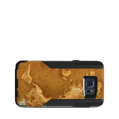 OtterBox Commuter Galaxy Note 5 Case Skin - Upside Down Map