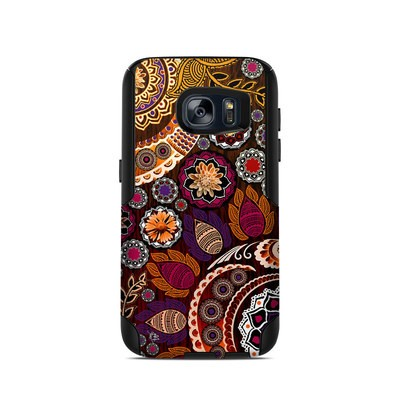 OtterBox Commuter Galaxy S7 Case Skin - Autumn Mehndi