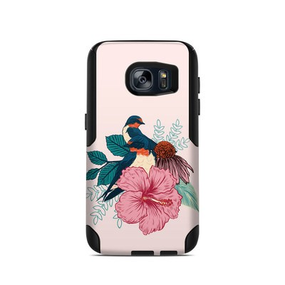 OtterBox Commuter Galaxy S7 Case Skin - Barn Swallows
