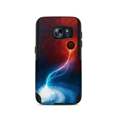 OtterBox Commuter Galaxy S7 Case Skin - Black Hole