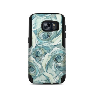 OtterBox Commuter Galaxy S7 Case Skin - Bloom Beautiful Rose