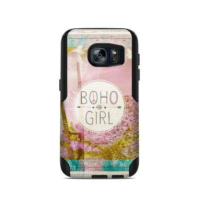 OtterBox Commuter Galaxy S7 Case Skin - Boho Girl