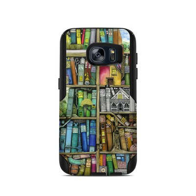 OtterBox Commuter Galaxy S7 Case Skin - Bookshelf
