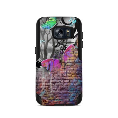 OtterBox Commuter Galaxy S7 Case Skin - Butterfly Wall